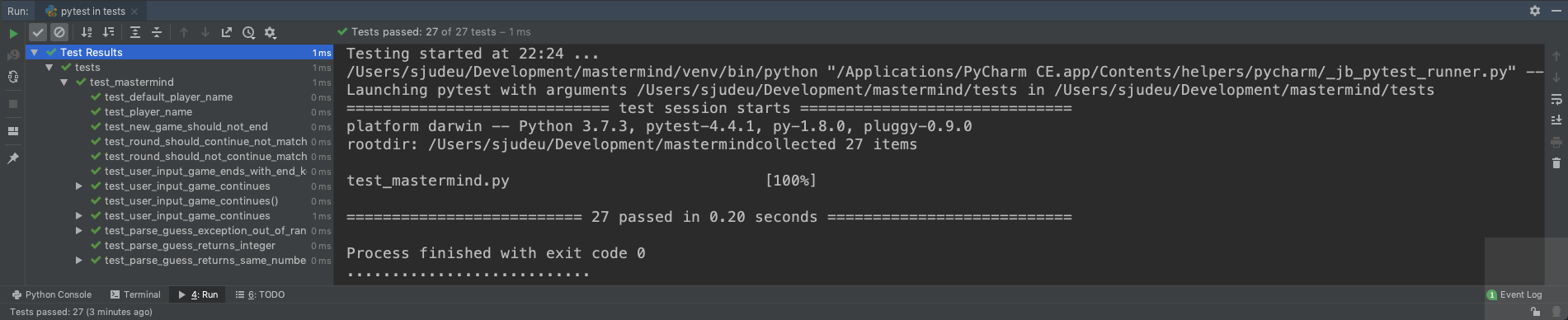 testmon - finding bugs 10x faster